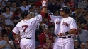 Middlebrooks' three-hit night