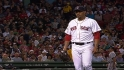 Morales&#039; eight strikeouts