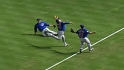 Cardenas' running catch