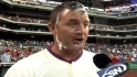 Thome on his walk-off homer