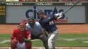 Plouffe's solo home run