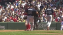 Hinske's two-run triple