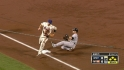 Dickey escapes jam