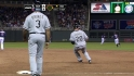 Youkilis' first White Sox hit