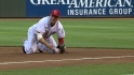 Votto's diving play