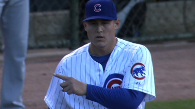 Rizzo looks back on Major League debut