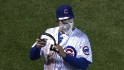 Rizzo gets pied after debut