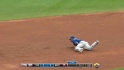 Escobar&#039;s diving stop