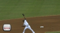 Reyes&#039; leaping catch