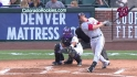 Moore's two-run homer