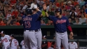 Asdrubal's three-run dinger