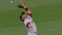 Aviles&#039; over-the-shoulder grab