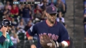Pedroia&#039;s amazing double play