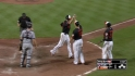 Wieters&#039; monster three-run homer