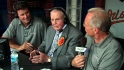 Earl Weaver stops by the booth