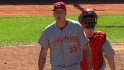 Latos' two-hit gem