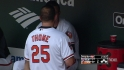 Thome's first Orioles' at-bat