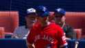 Bautista receives ovation