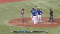 Bautista&#039;s three-run blast