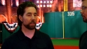 Dickey visits with MLB Network