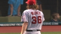 Weaver&#039;s scoreless outing