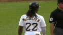 McCutchen's four-hit game