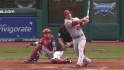 Trout&#039;s three-run homer
