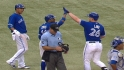 Blue Jays' six-run fourth