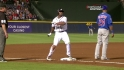 Bourn&#039;s three-run triple