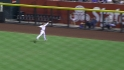 Upton's running catch