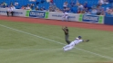 Encarnacion&#039;s diving catch