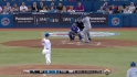 Dyson&#039;s first career strikeout