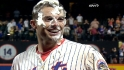 Wright on his walk-off hit