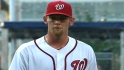 Strasburg's six strikeouts