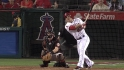 Trout&#039;s solo home run