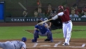 Upton&#039;s RBI triple