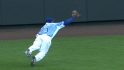 Gose lays out for great grab