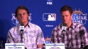 Managers, starters on 2012 ASG