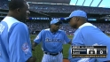 Cano&#039;s dad receives mound visit