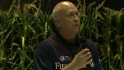 Ripken on Field of Dreams Game