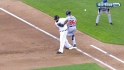 Uggla's RBI infield single