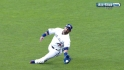 Bautista&#039;s great catch