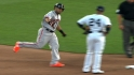 Melky&#039;s two-run homer