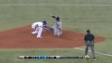 Arencibia throws out Santana