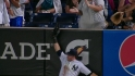 Swisher&#039;s leaping catch