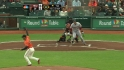 Bumgarner&#039;s quick defense