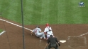 Votto saves a run