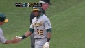 Cespedes&#039; RBI double