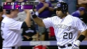 Rosario&#039;s three-run jack
