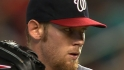 Strasburg&#039;s outstanding outing